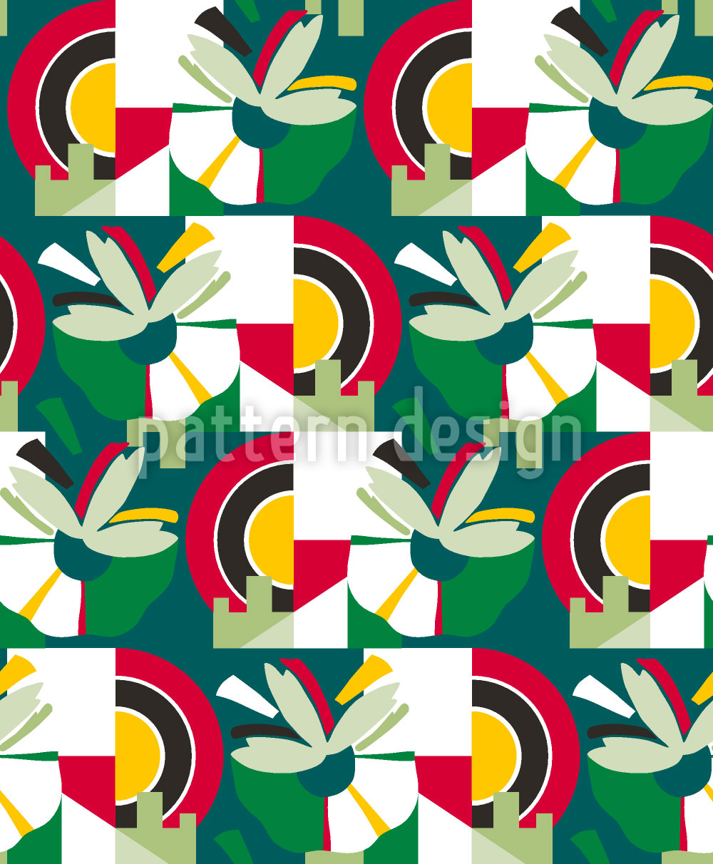 Designtapete Blütenstand Mehr Grün