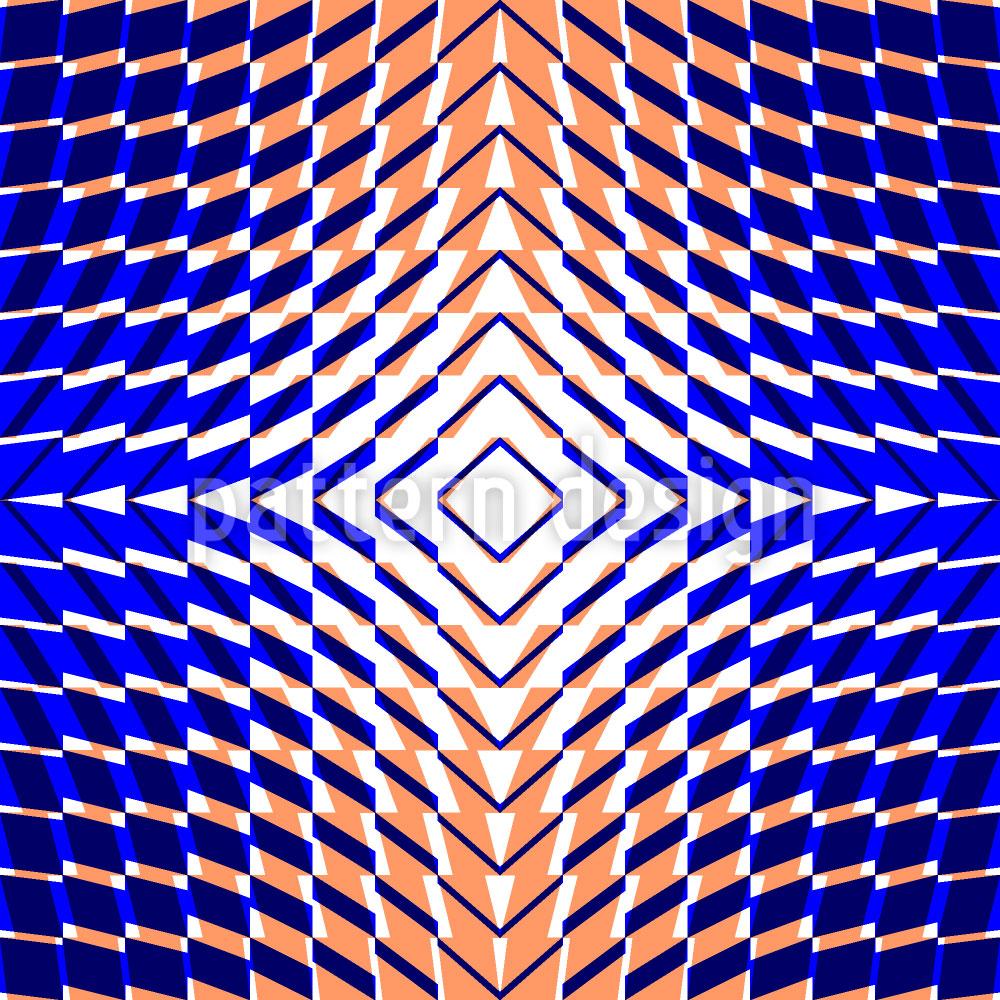 Designtapete Kaleidoskop Zwei