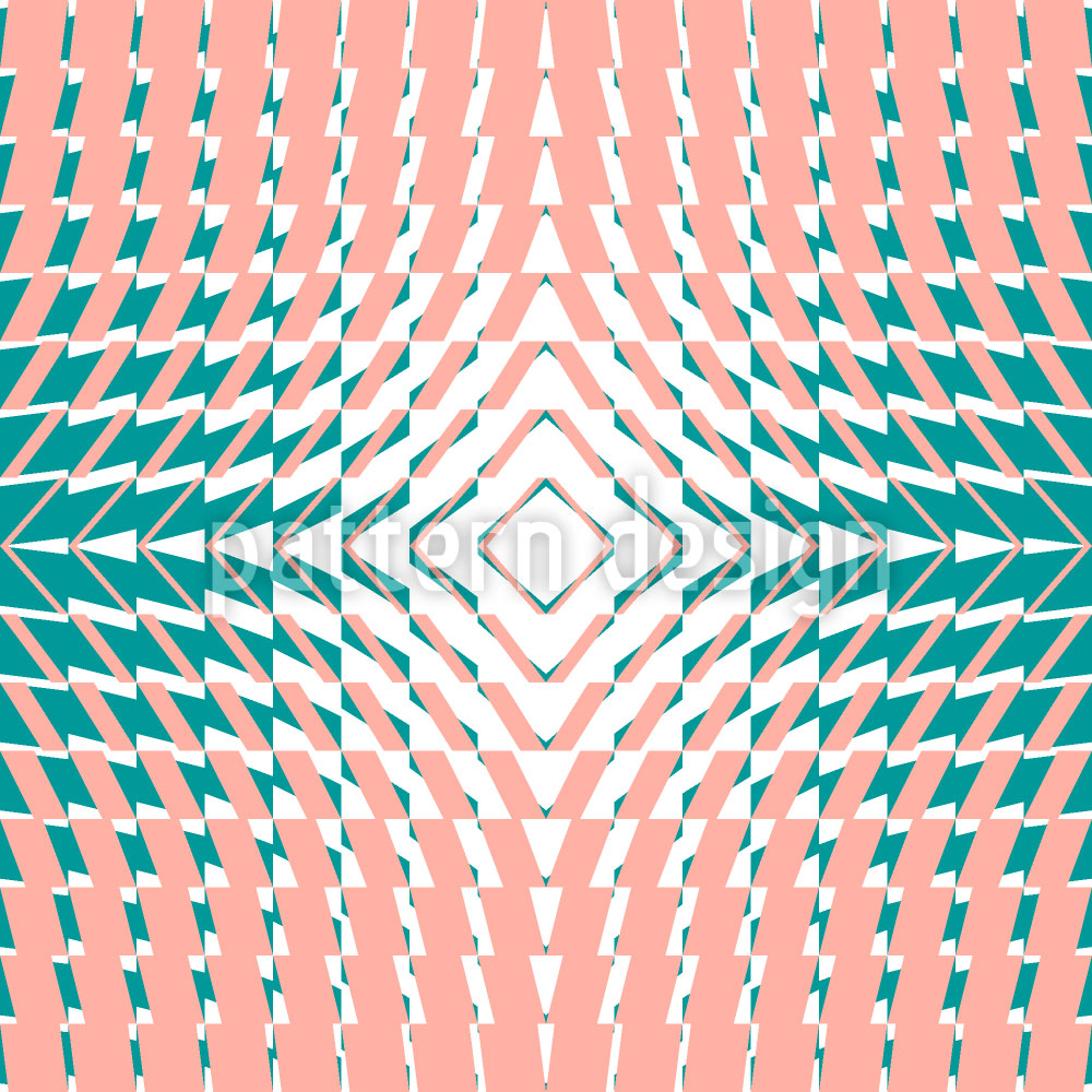 Designtapete Kaleidoskop Vier
