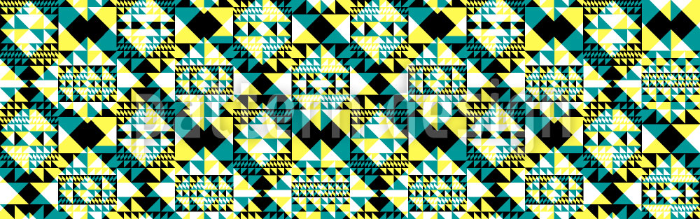 Designtapete Triangular 2