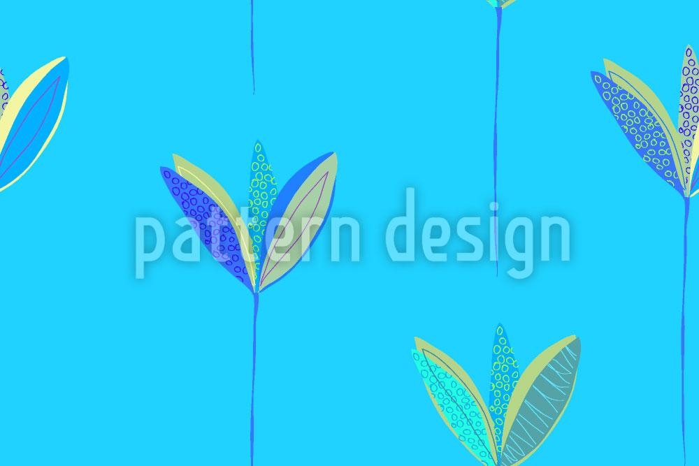 Designtapete Blumenregen