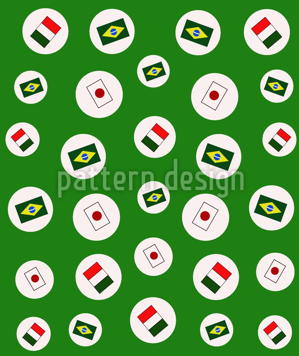 Designtapete Mundial Soccer