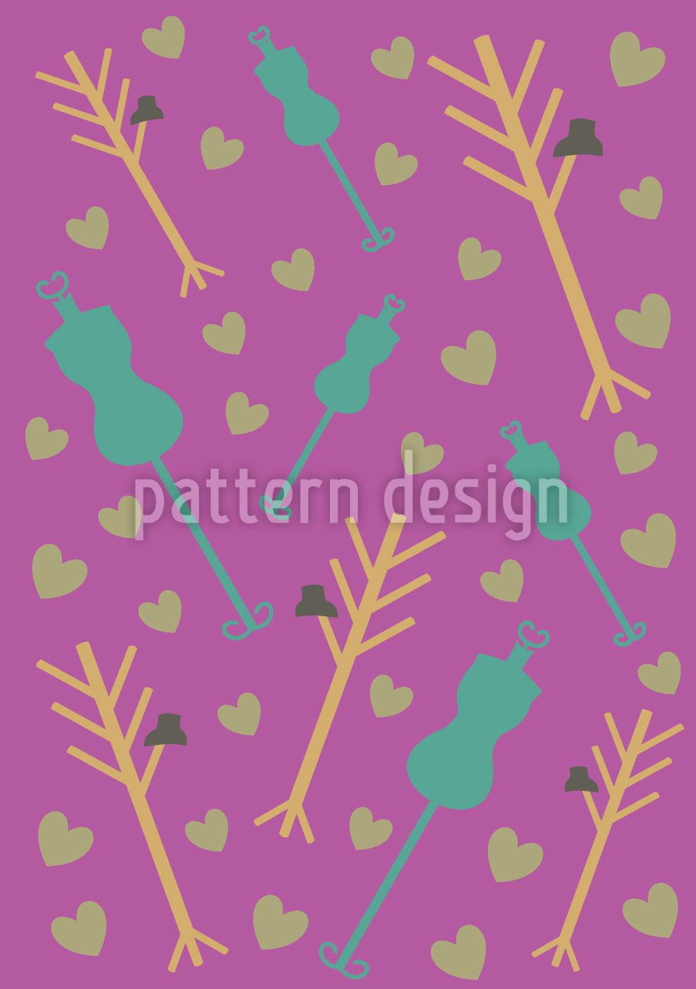 Designtapete Atelier Purpur