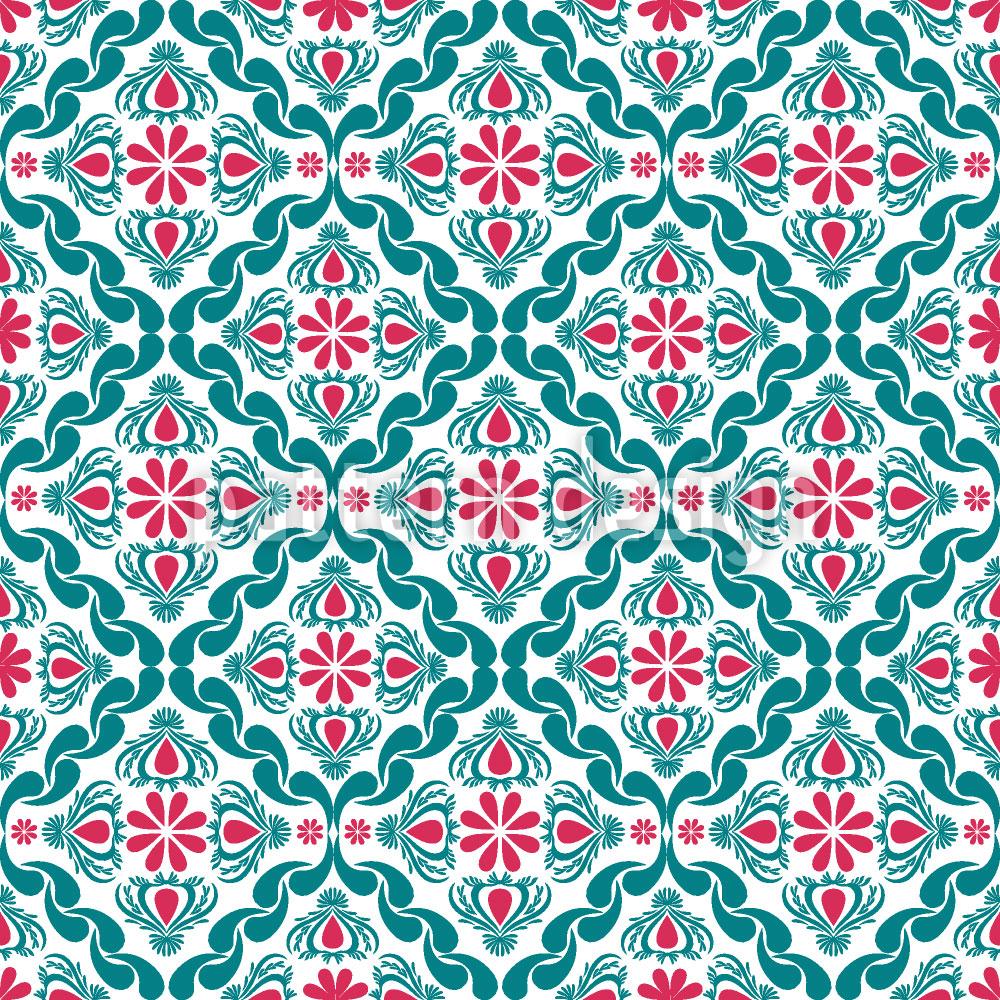 Designtapete Floralis