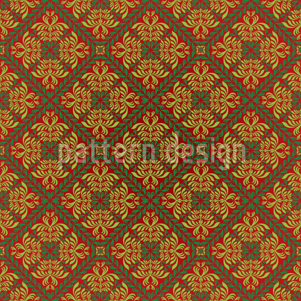 Designtapete Renaissance Gold