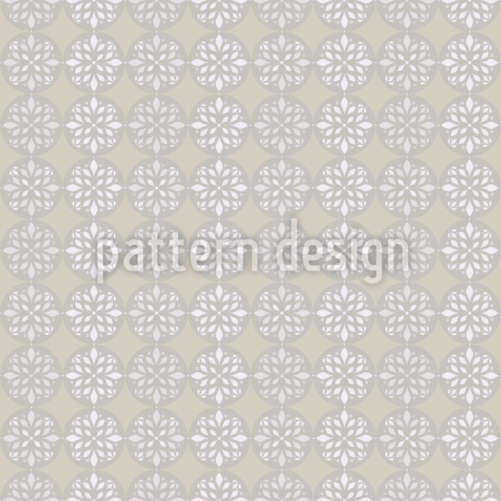 Designtapete Peaceful Journey Beige