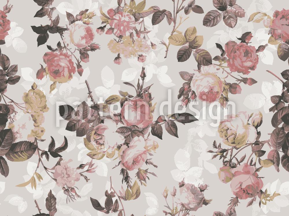 Designtapete Letzte Englische Rose