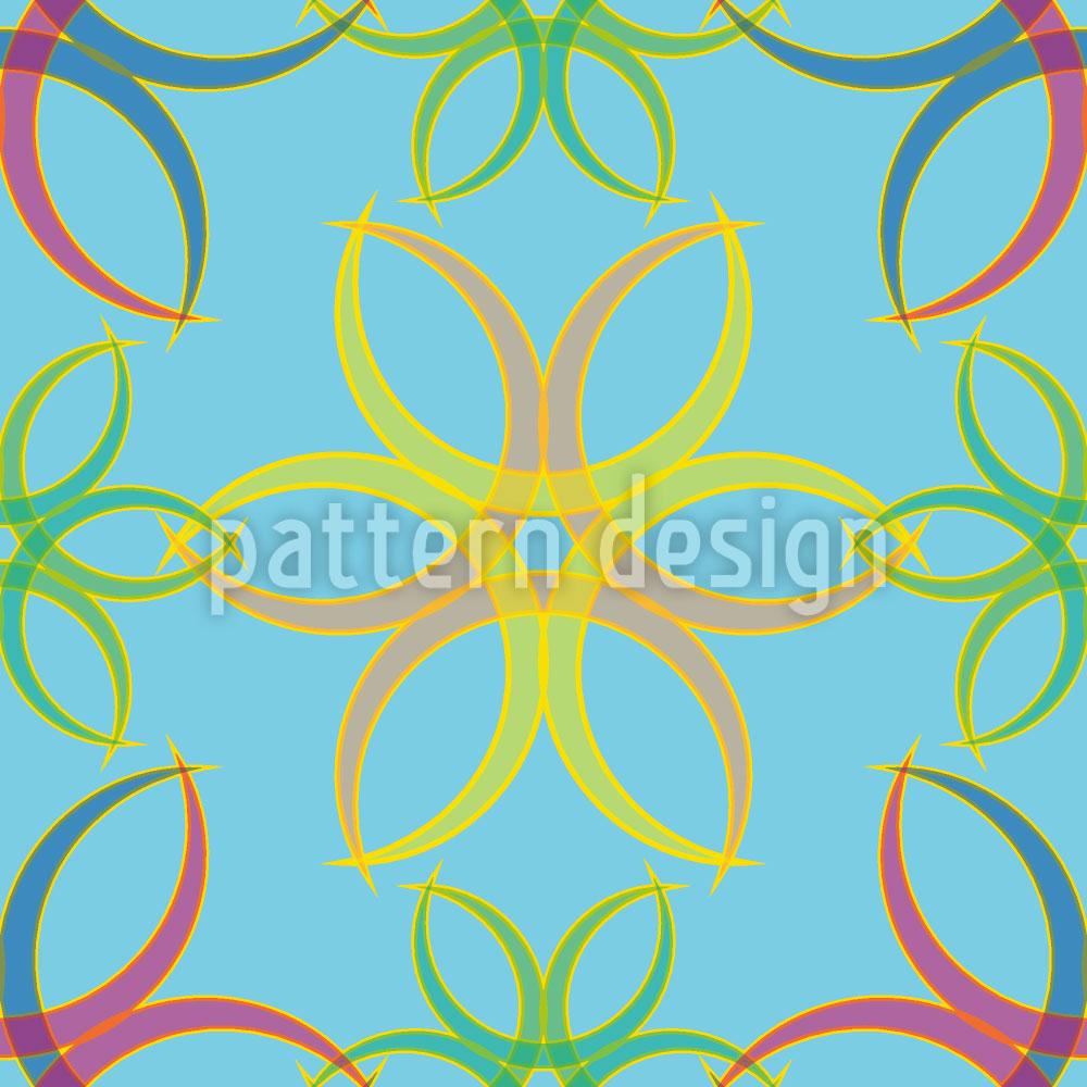 Designtapete Graphic Mystica