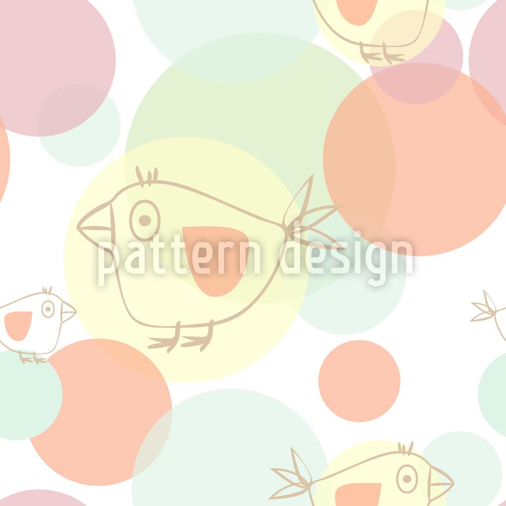 Designtapete Piepsi Dot Com
