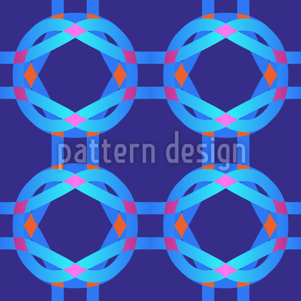 Designtapete Cool Technicolor