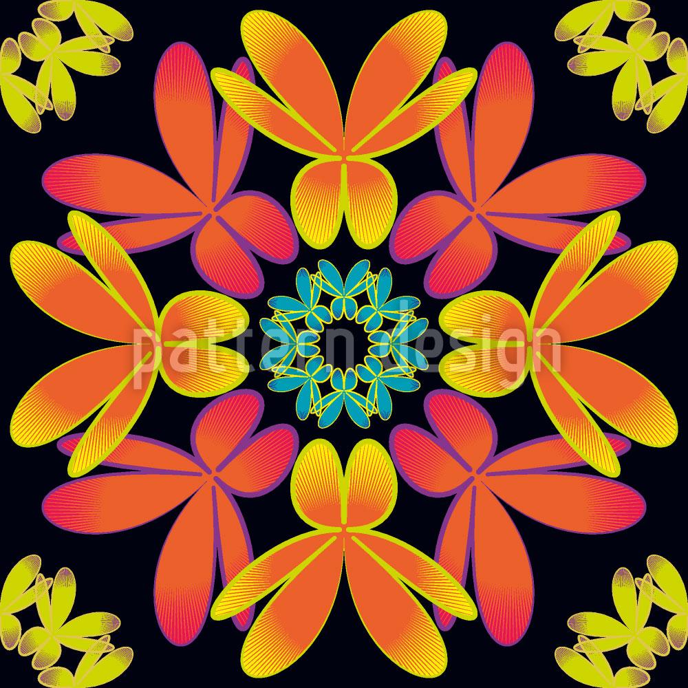 Designtapete Flora Extrem