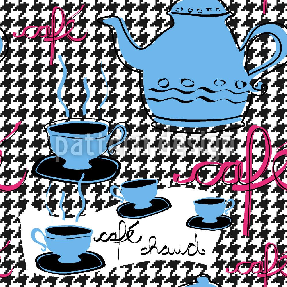 Designtapete Petit Cafe