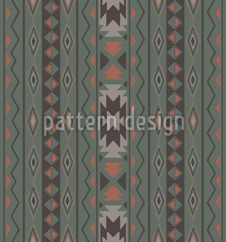 Designtapete Ikat Pastell