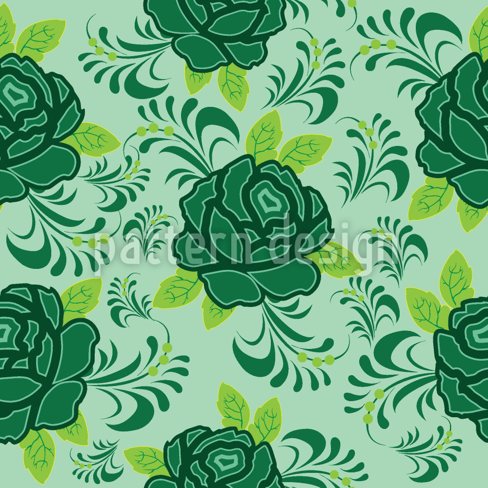 Designtapete Meine Irische Rose