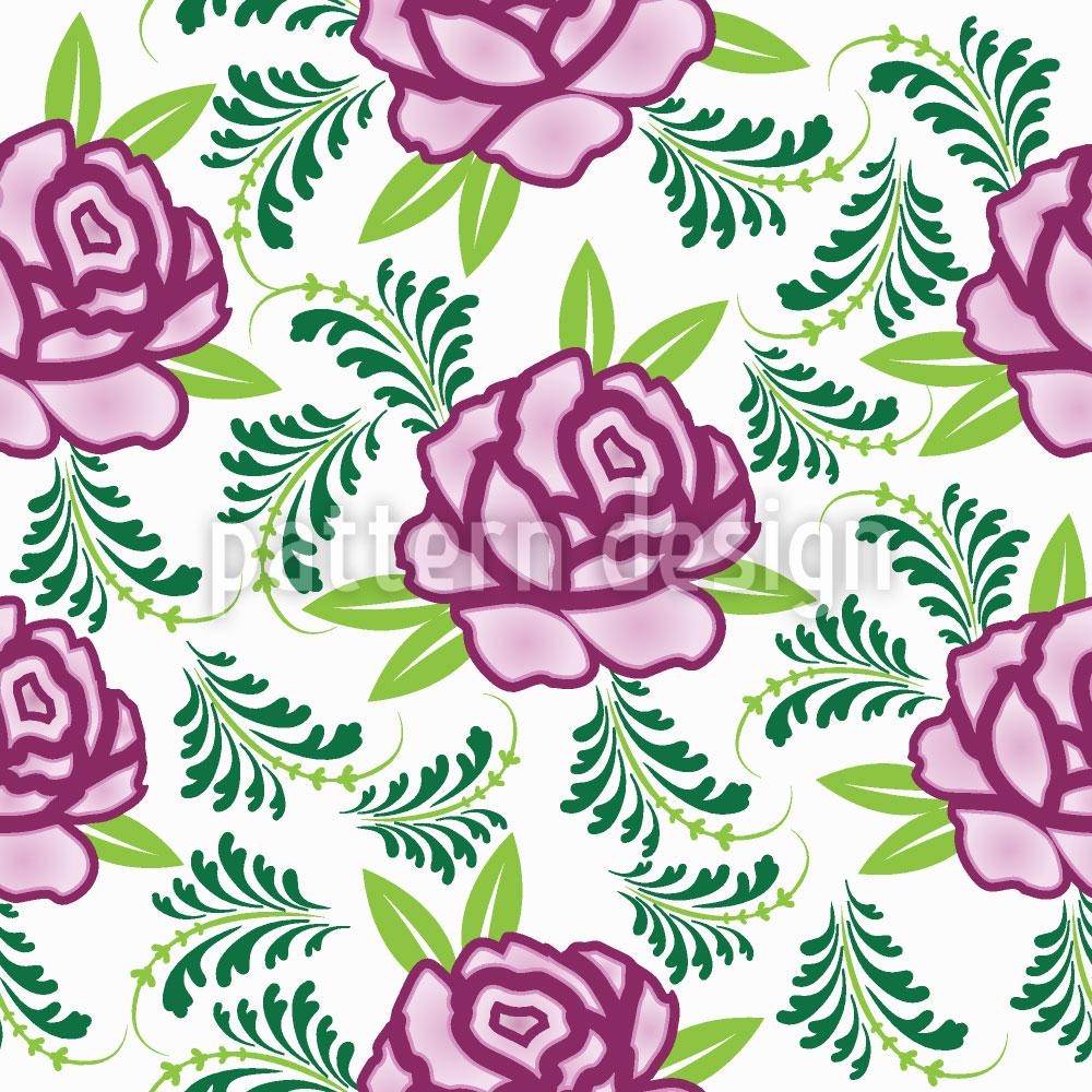 Designtapete Meine Schottische Rose