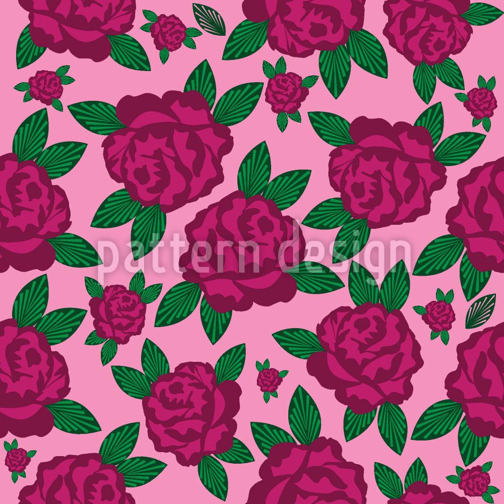 Designtapete Meine Englische Rose