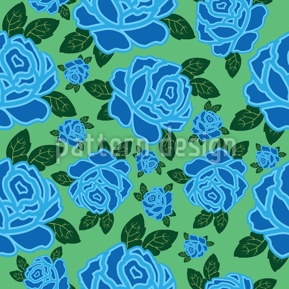 Designtapete Meine Ozean Rose