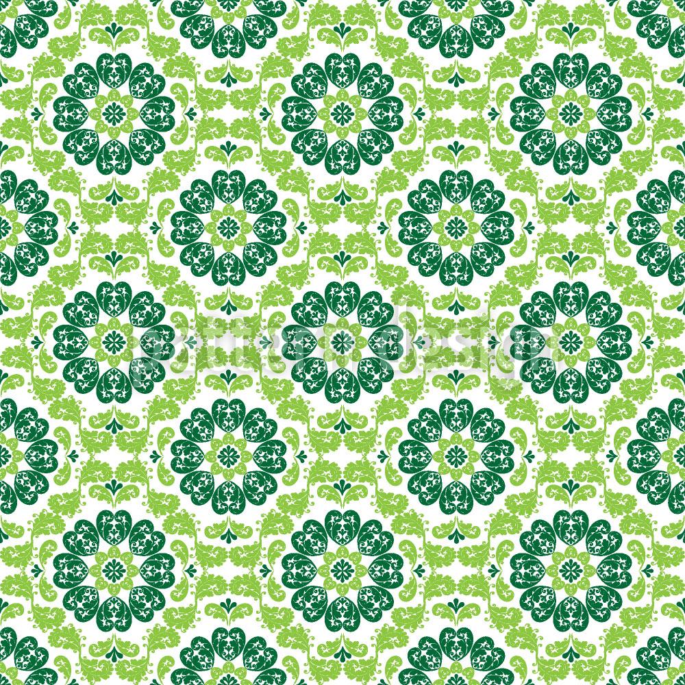 Designtapete Flora Verde