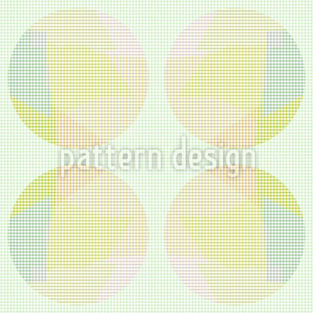 Designtapete Schüchterne Kreise
