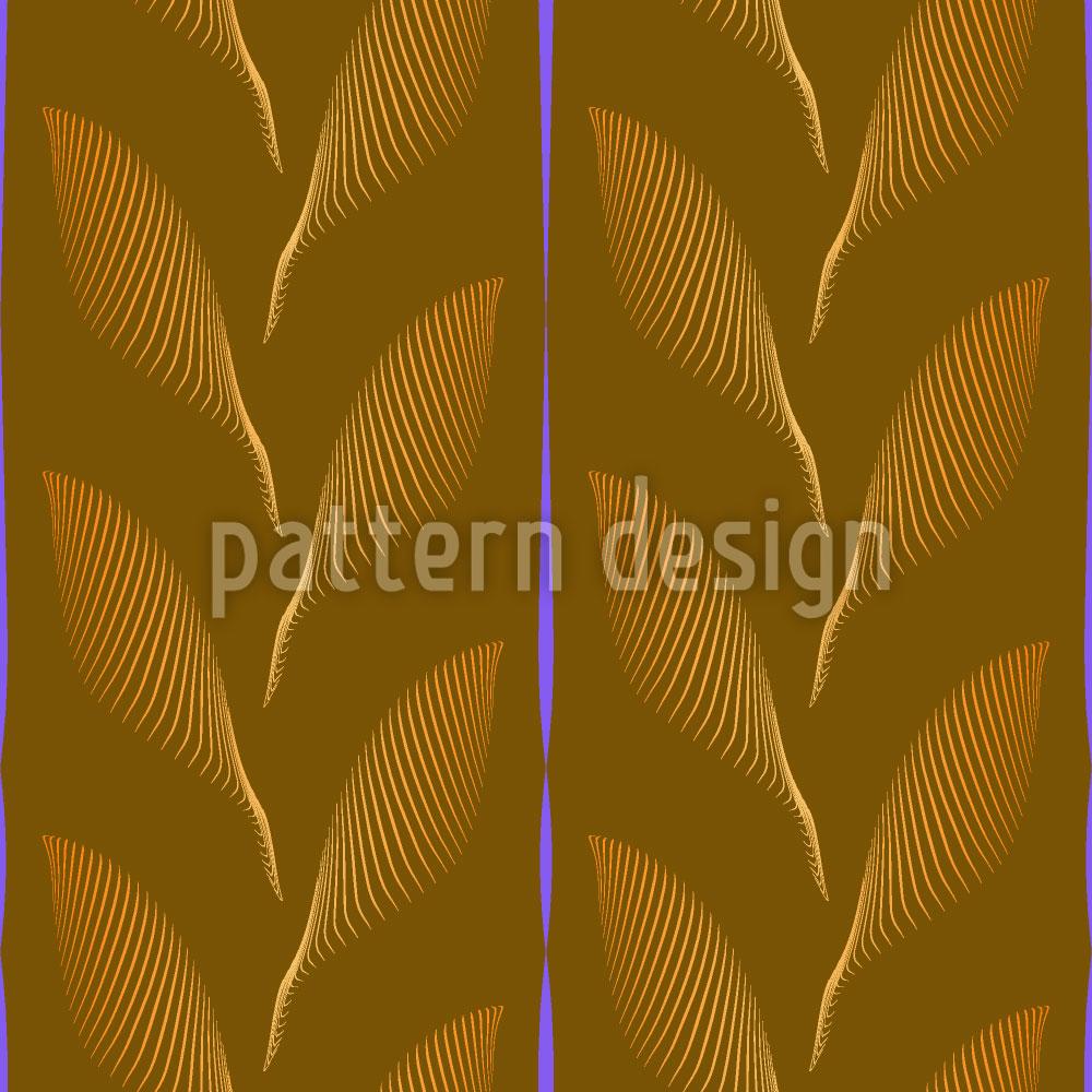 Designtapete Herbstblätter