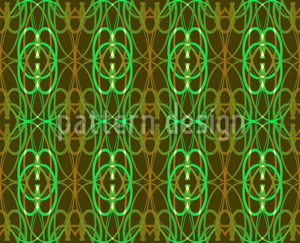 Designtapete Art Moss