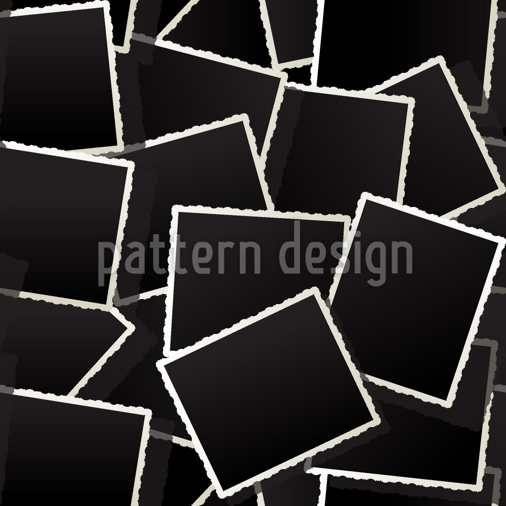 Designtapete Verblasste Fotos