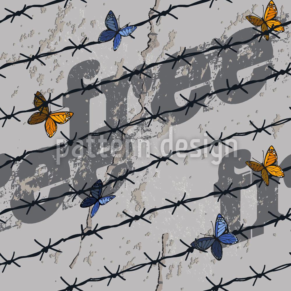 Designtapete Die Freiheit Der Schmetterlinge