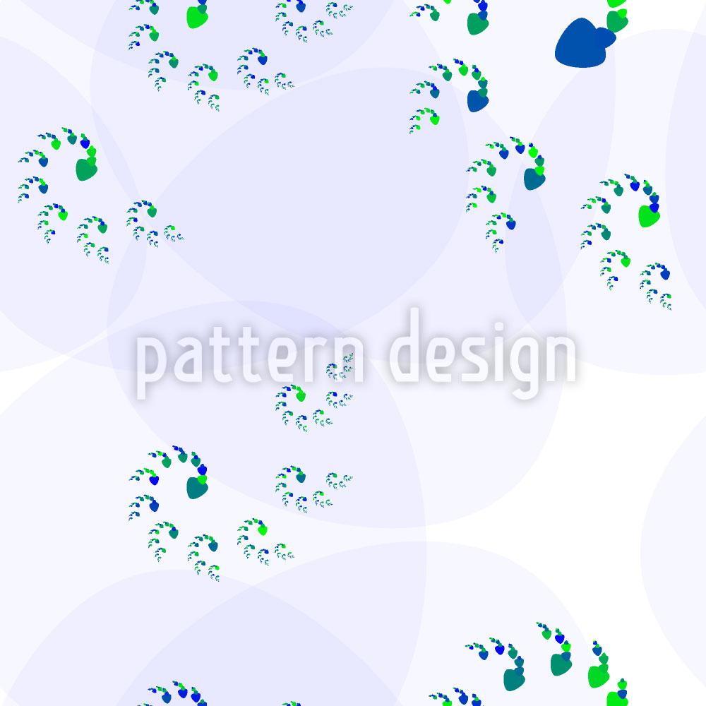 Designtapete Spiralentanz