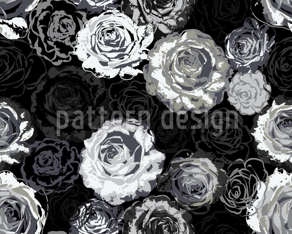 Designtapete Wo Die Wilden Rosen Wachsen