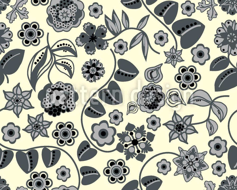 Designtapete Floraler Almrausch Bei Tag