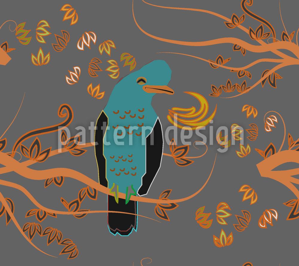 Designtapete Peruanischer Paradiesvogel