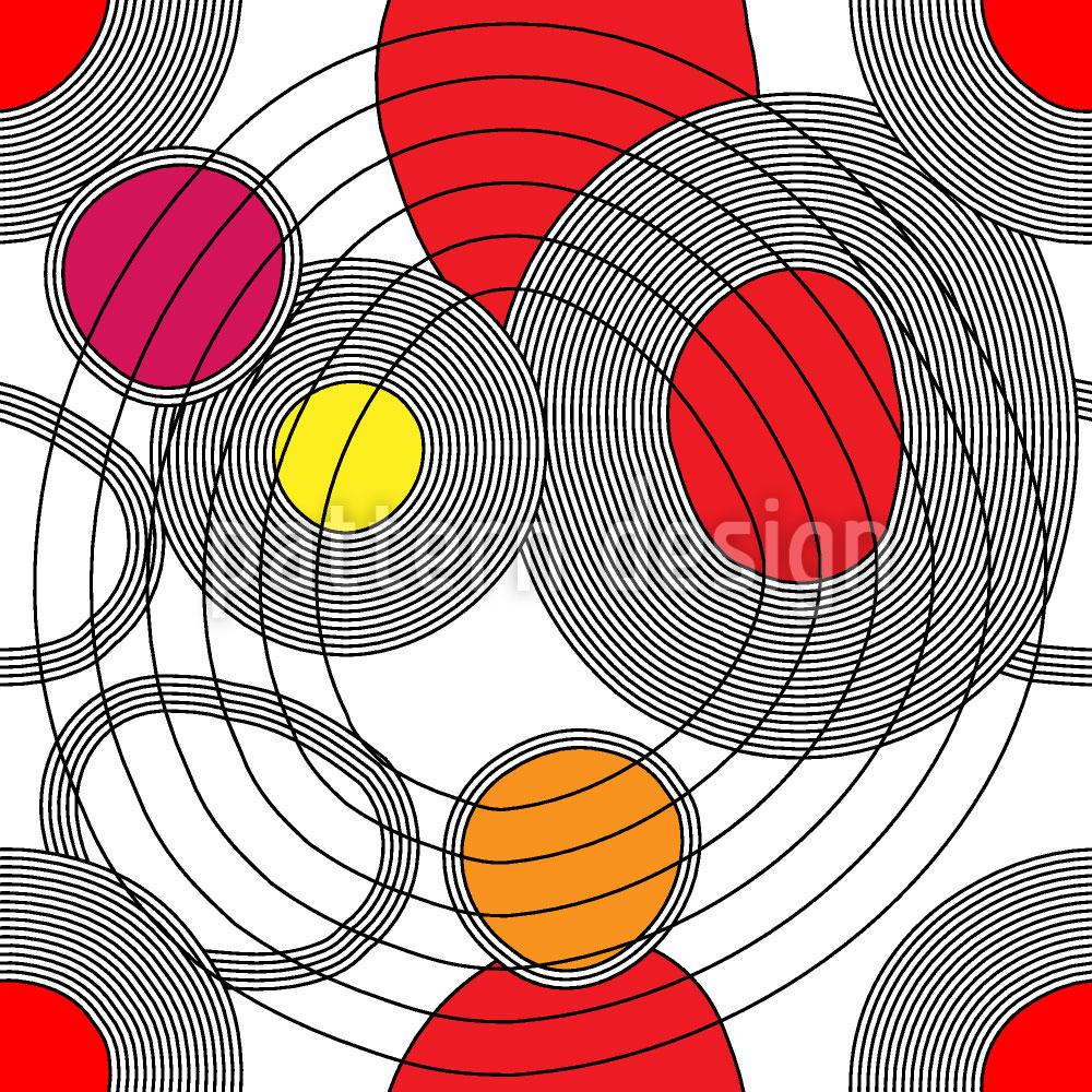 Designtapete Kreistreffen