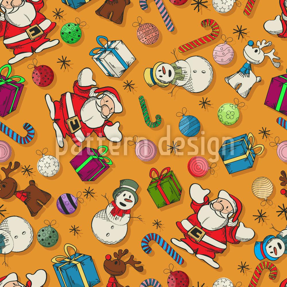 Designtapete Weihnacht Überall