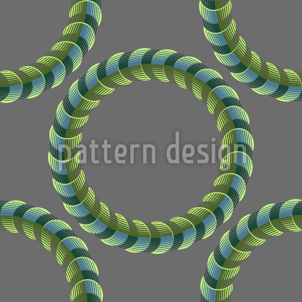 Designtapete Herr Der Spiralringe