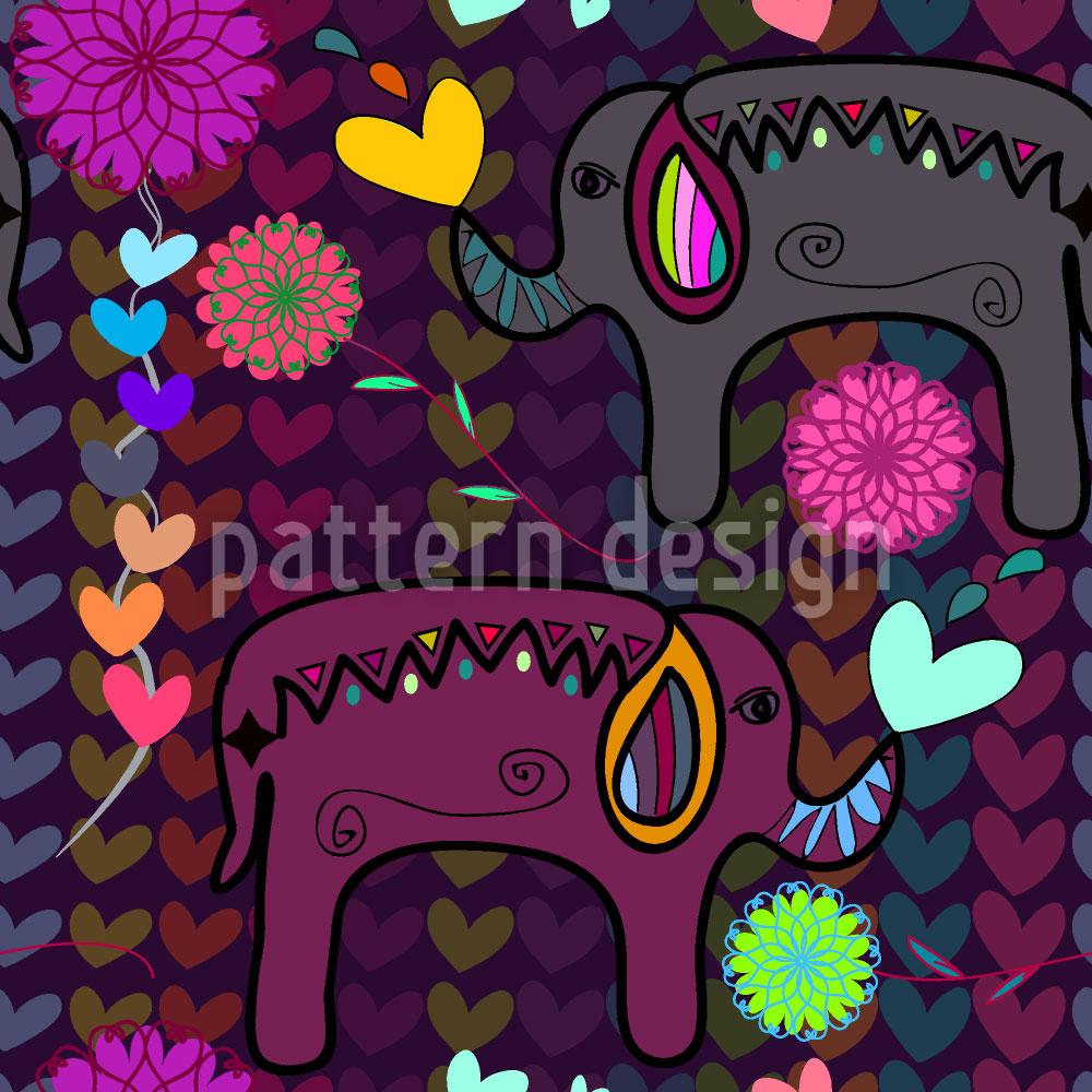 Designtapete Hindu Love
