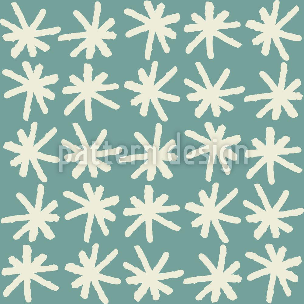Designtapete Schnee In Smaland