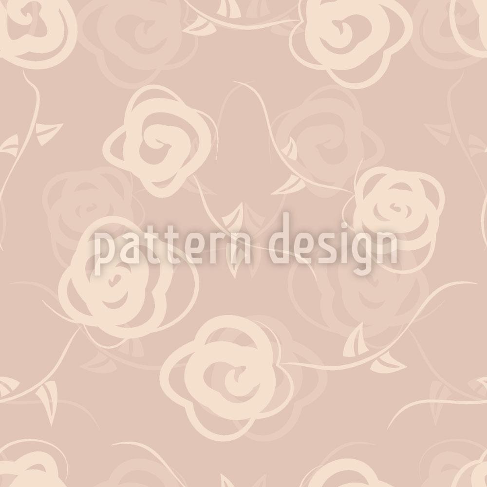 Designtapete Dornröschens Blumenschaukel