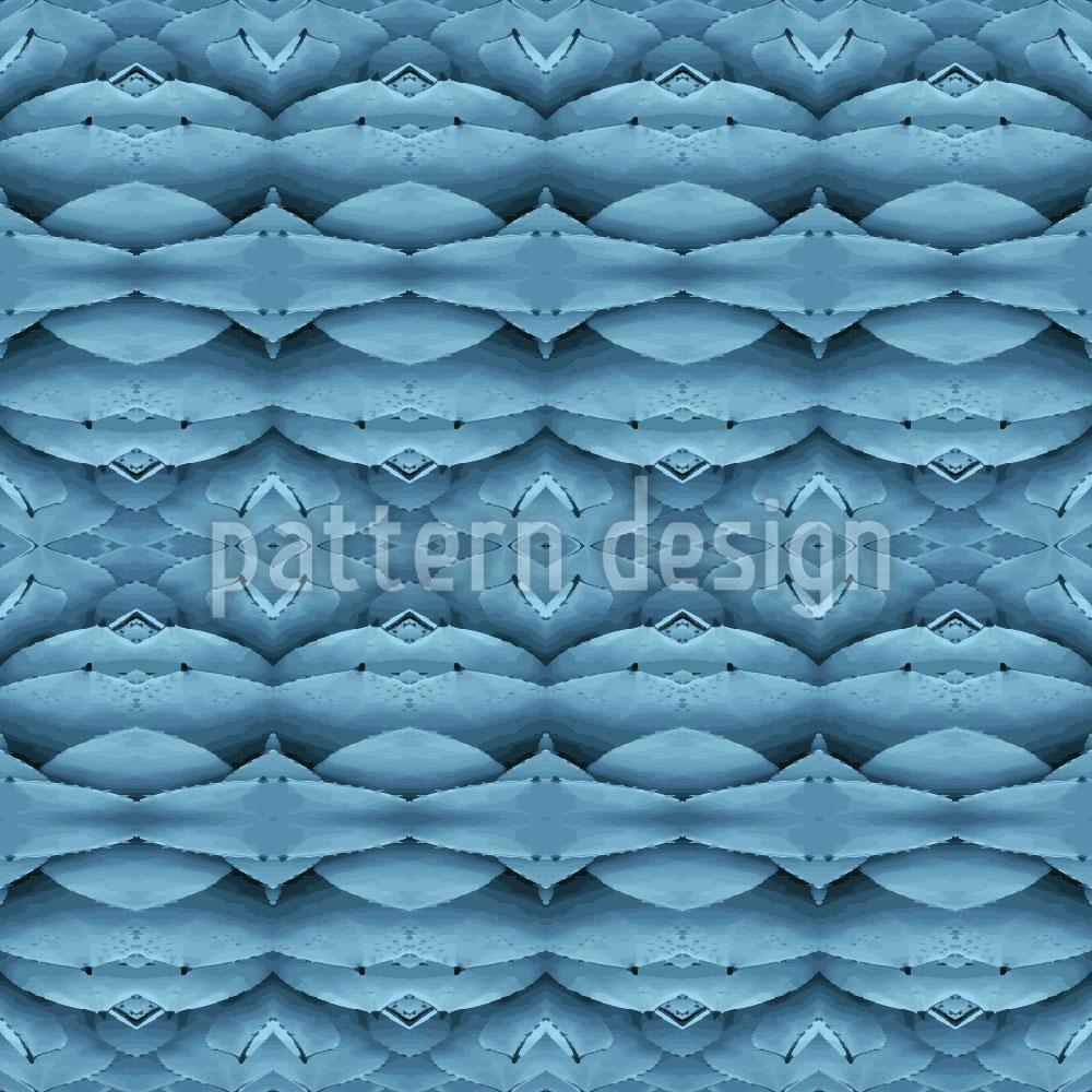 Designtapete Blaue Wunderwelten
