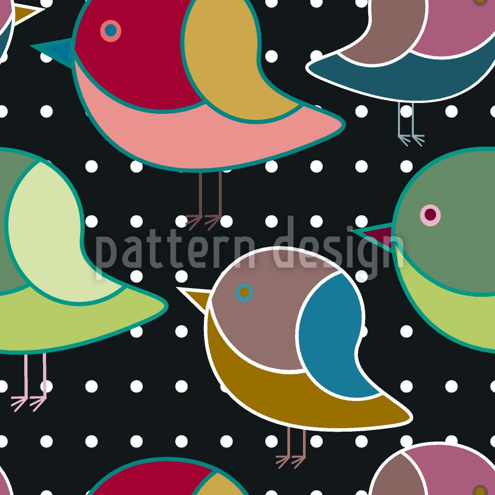 Designtapete Wenn Vögelchen Träumen