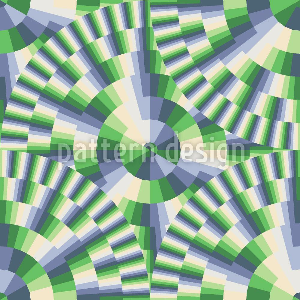 Designtapete Kreisreaktor
