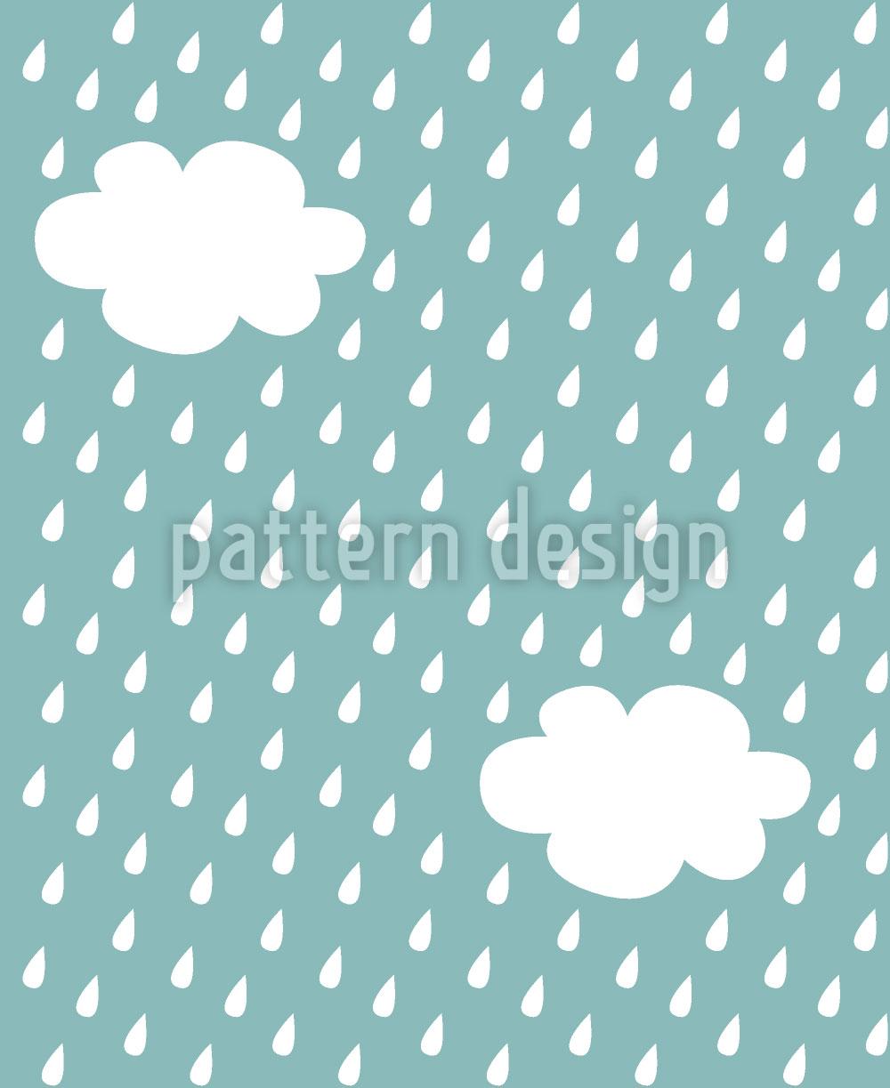 Designtapete Es Regnet