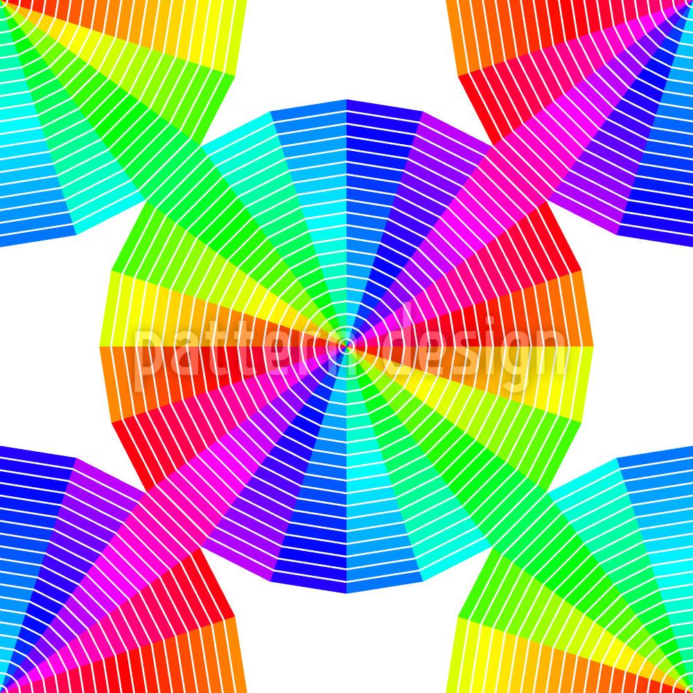 Designtapete Compact Color Disks
