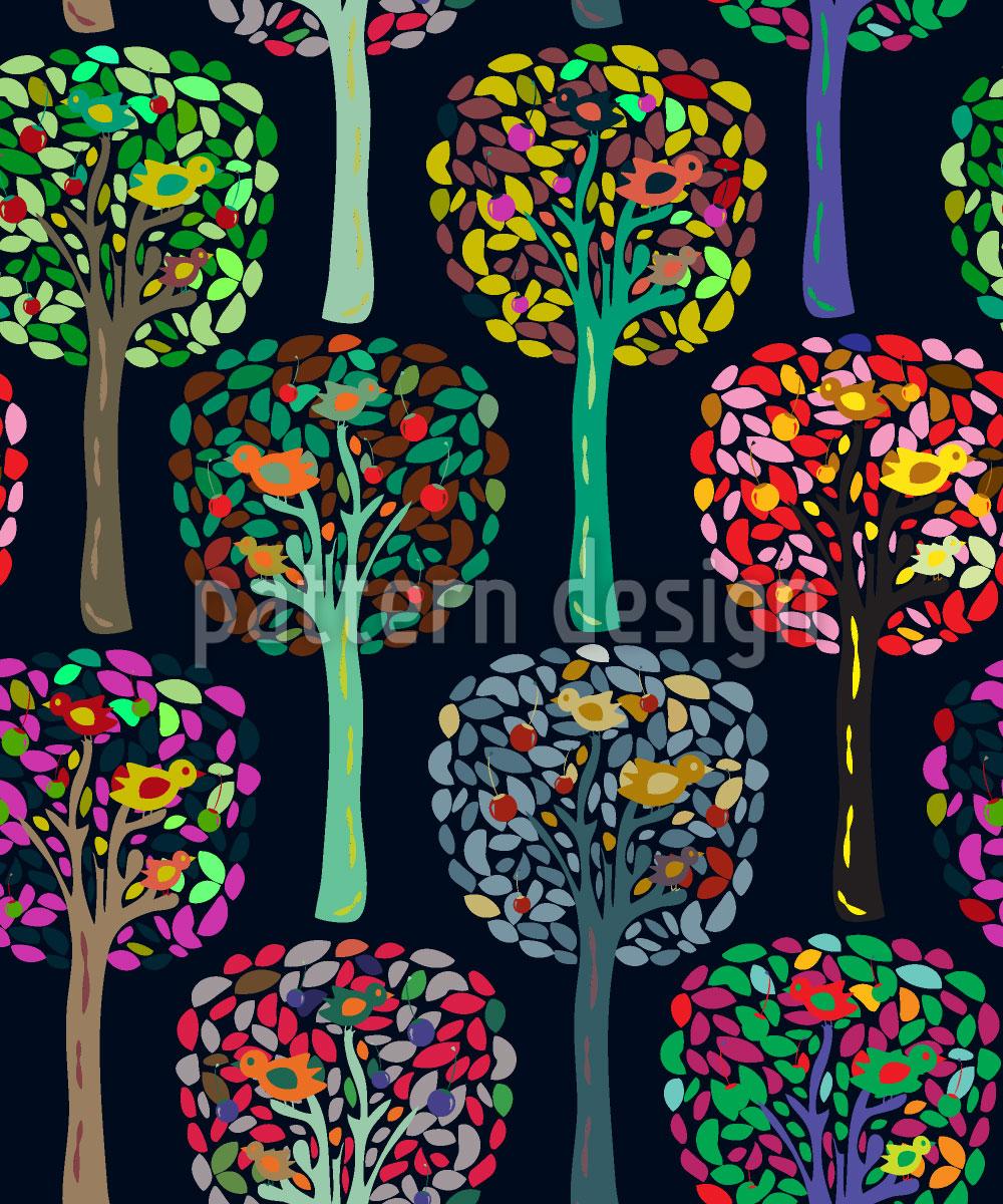 Designtapete Cecilias Trees