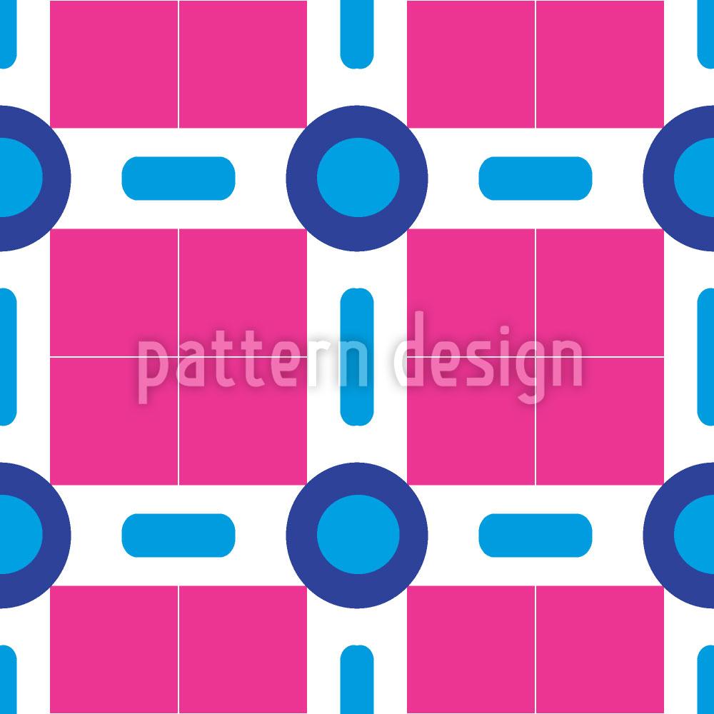 Designtapete Kreis Und Quadrat In Miami