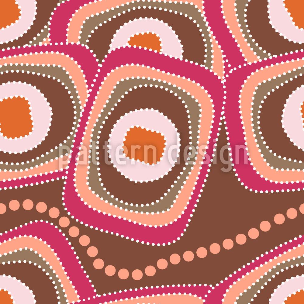 Designtapete Die Schlange Frühstückt Im Outback