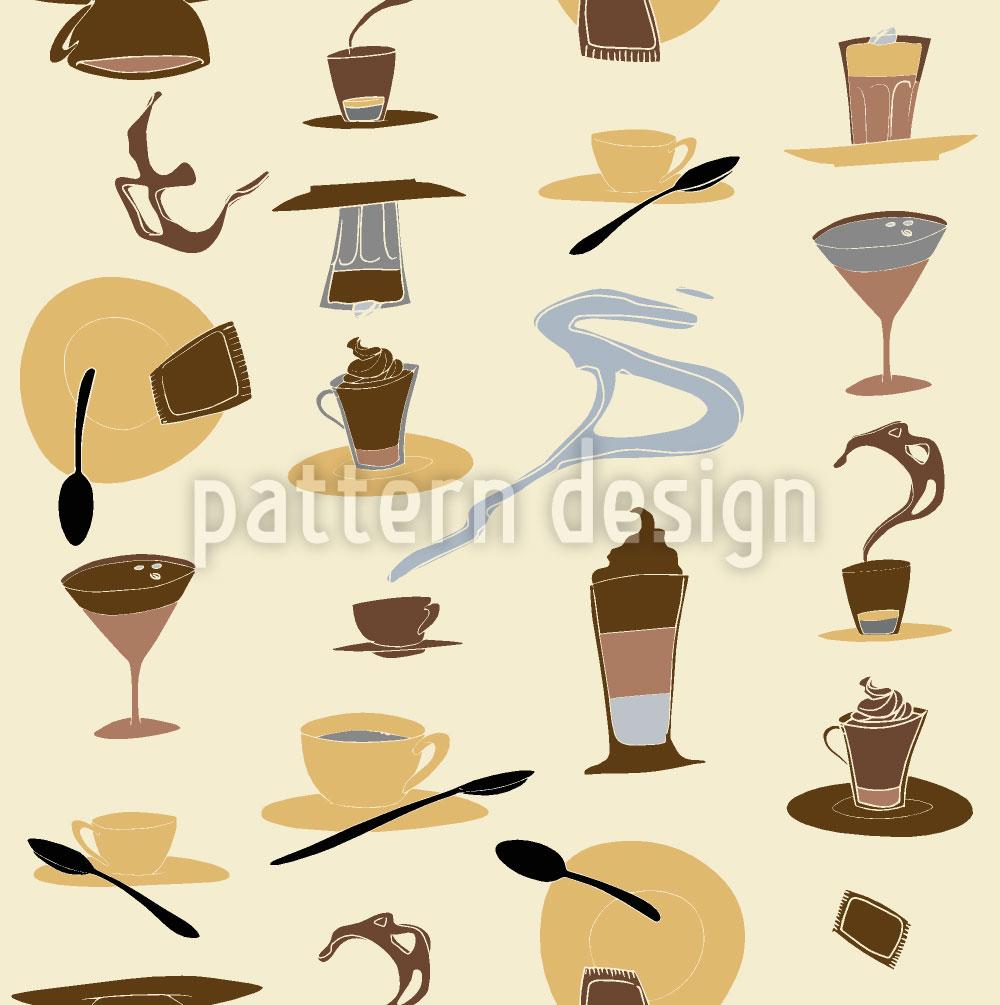 Designtapete Il Gusto Del Caffe Buono