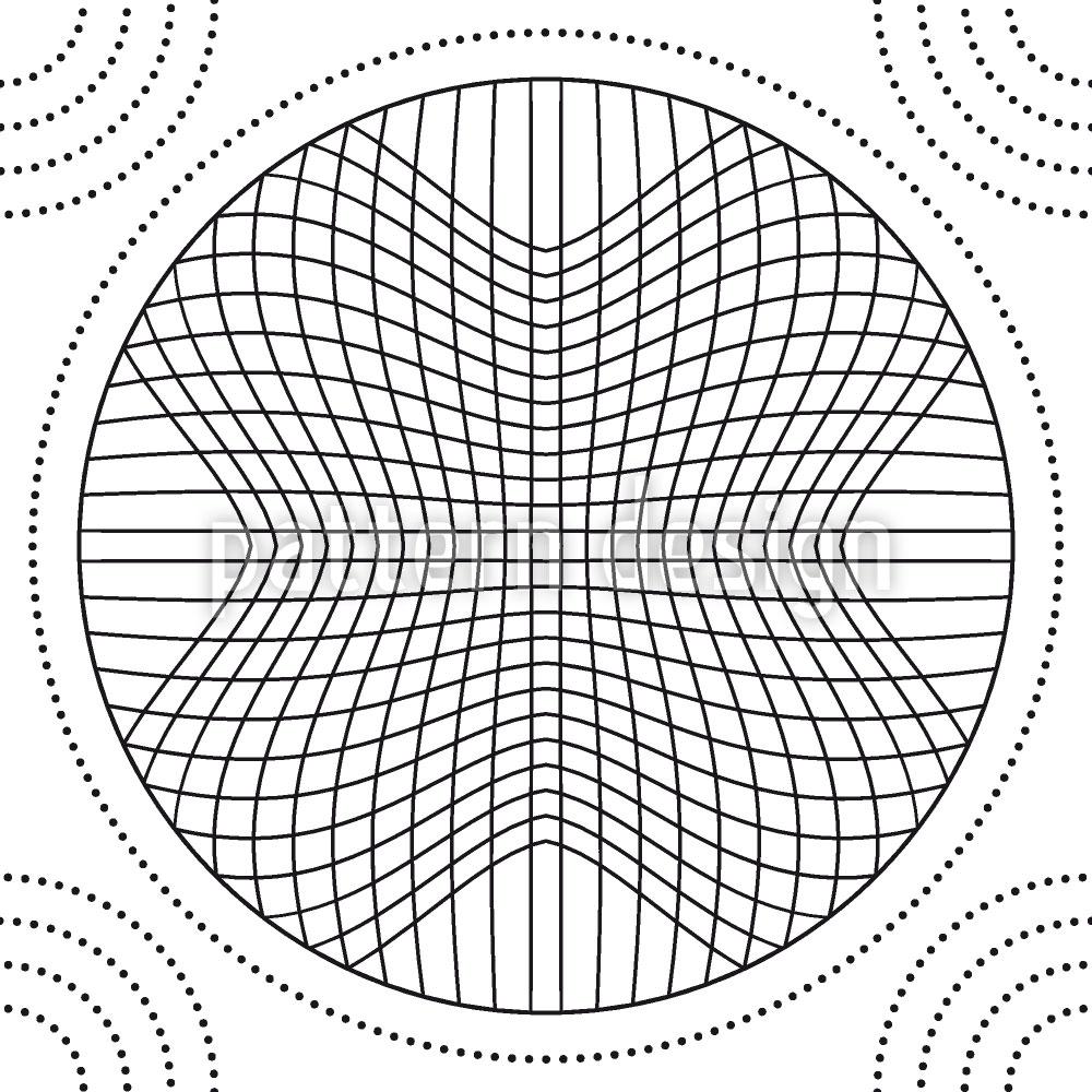 Designtapete Im Netz Der Kreise