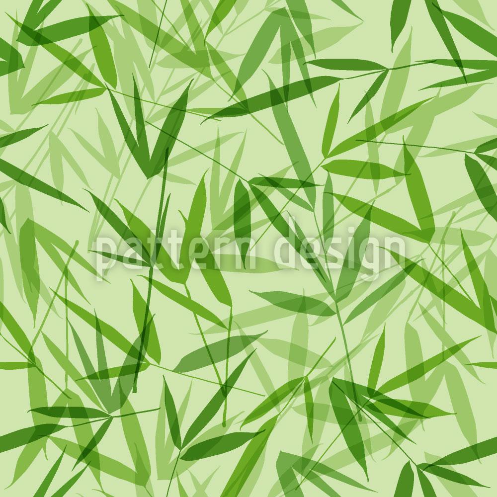 Designtapete Bamboori Ton In Ton