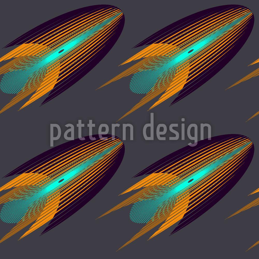 Designtapete Raketa