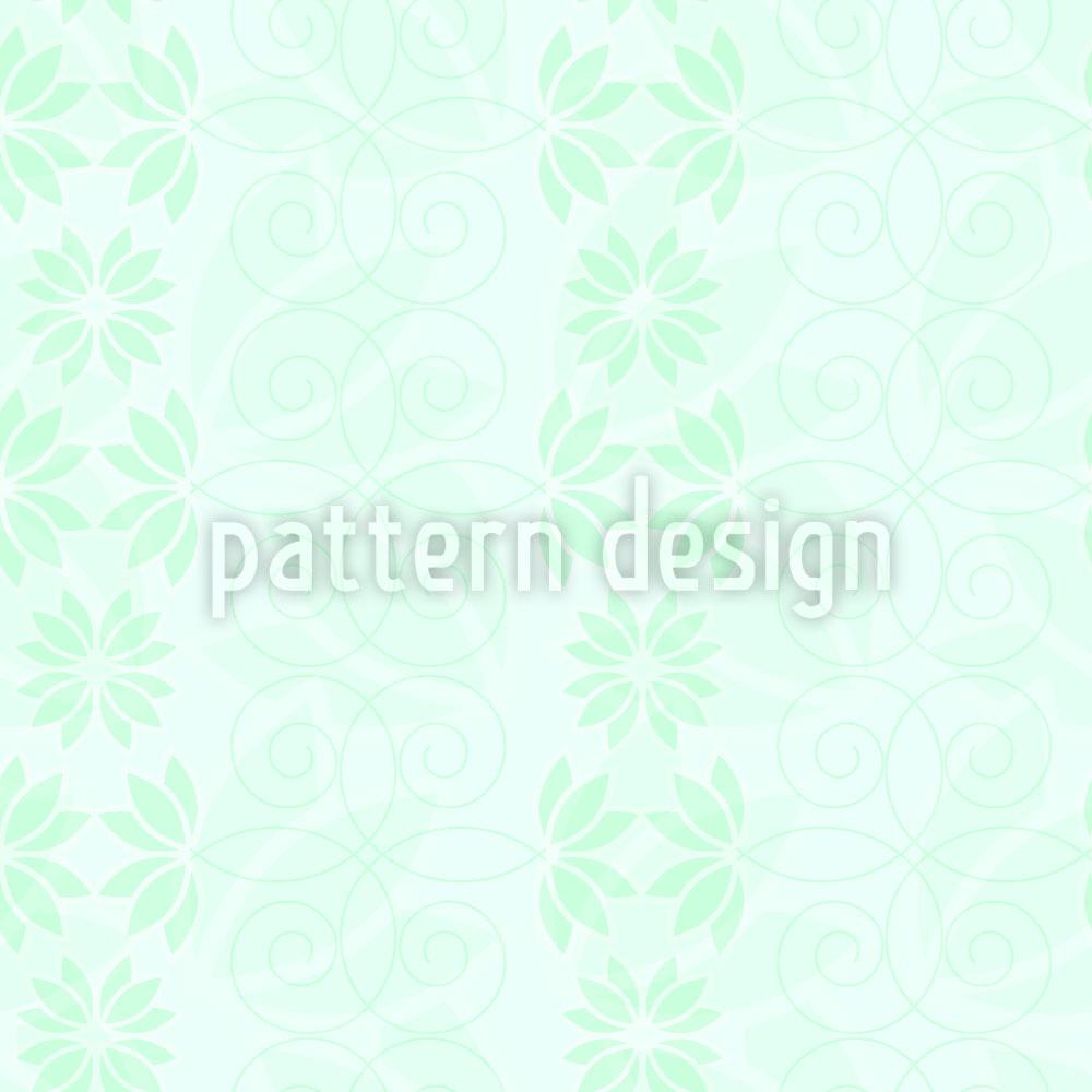 Designtapete Die Stille Eines Blumenhimmels